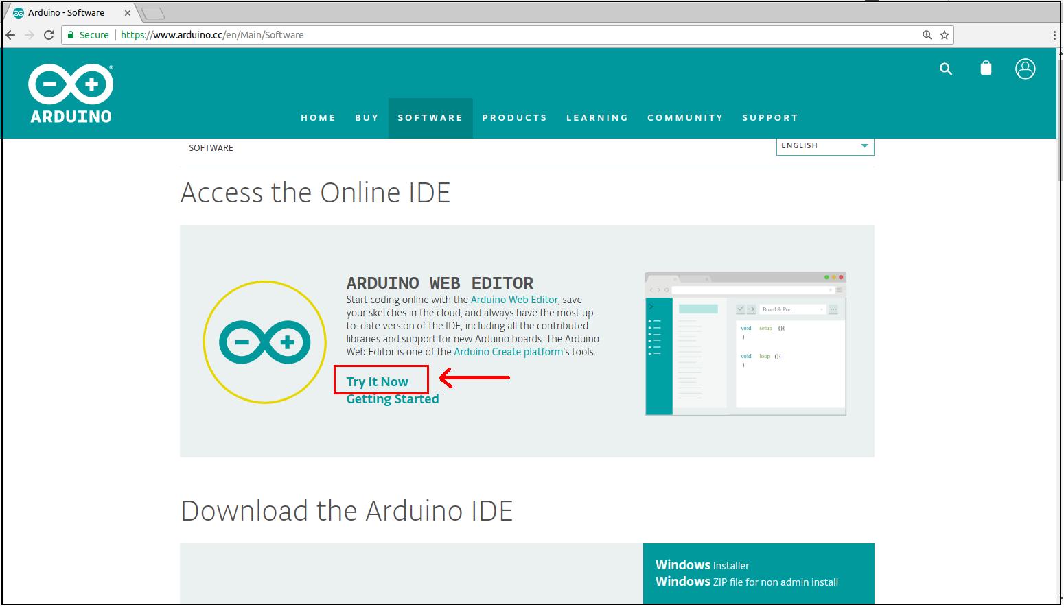 install online ide