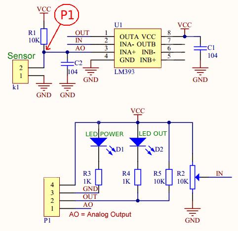 light sensor schema