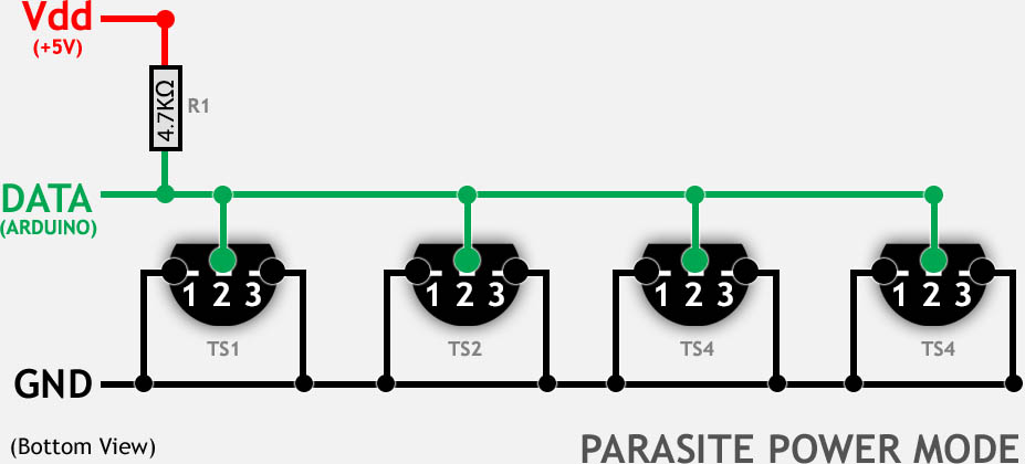 ds18b20 parasite power